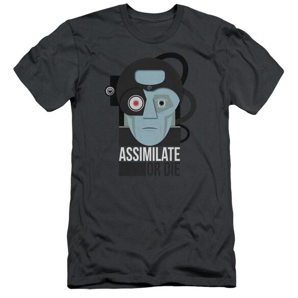 Star Trek Assismilate Or Die Hbo Short Sleeve Adult T-Shirt