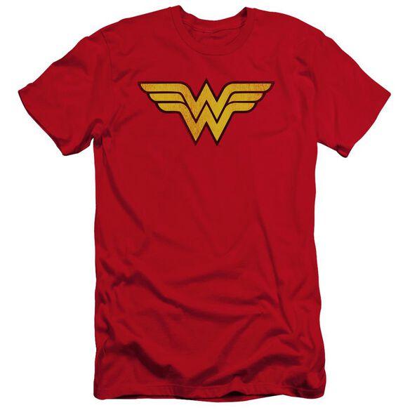 Dc Wonder Woman Logo Dist Premuim Canvas Adult Slim Fit