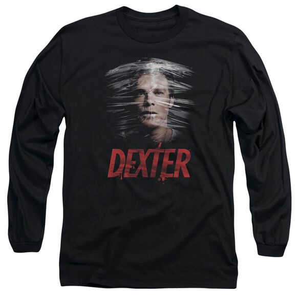 Dexter Plastic Wrap Long Sleeve Adult T-Shirt