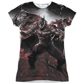 Infinite Crisis Ic Batman Short Sleeve Junior Poly Crew T-Shirt