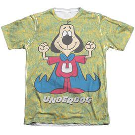 Underdog Flexing Adult Poly Cotton Short Sleeve Tee T-Shirt