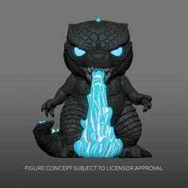 Funko Pop! Movies: Godzilla vs Kong - Heat Ray Godzilla (Glow)