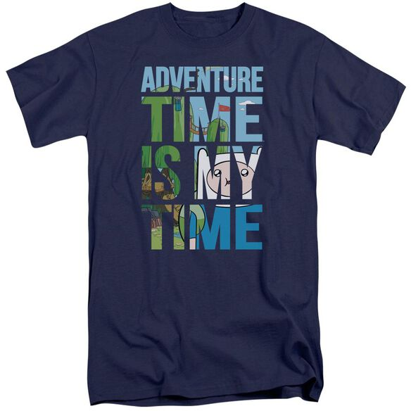 Adventure Time My Time Short Sleeve Adult Tall T-Shirt