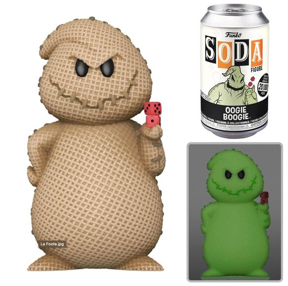 Funko Soda: The Nightmare Before Christmas Oogie Boogie (w/chase)