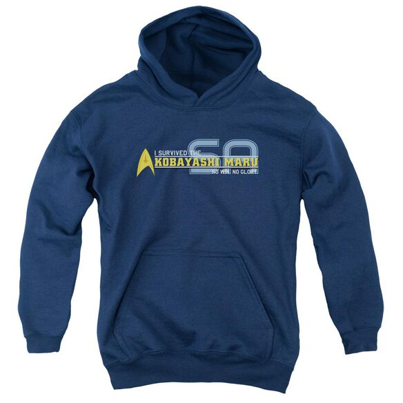 Star Trek I Survived Youth Pull Over Hoodie