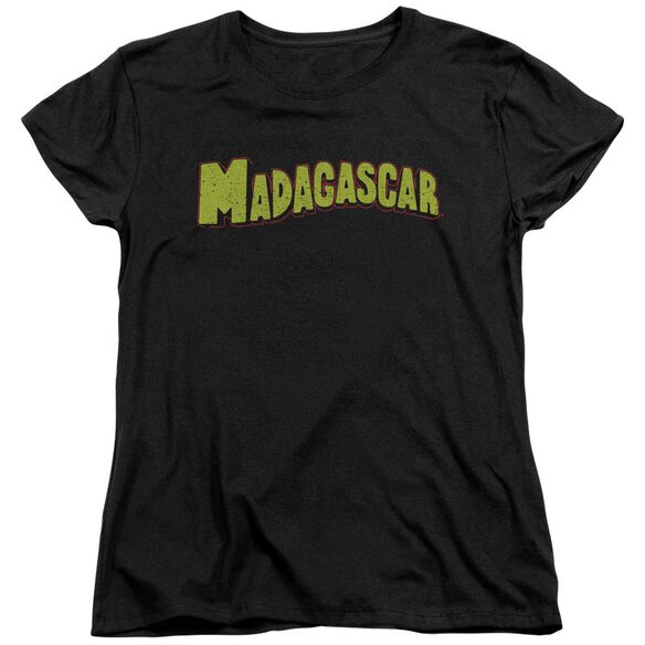Madagascar Logo Short Sleeve Womens Tee T-Shirt