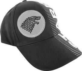Game of Thrones Stark Split Logo Name Hat