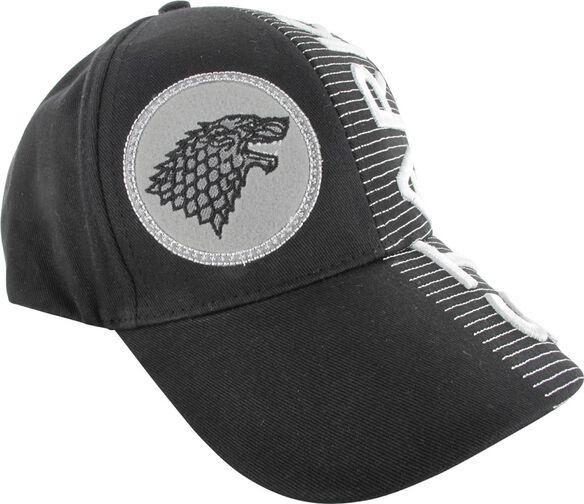 Game of Thrones Stark Split Logo Name Hat