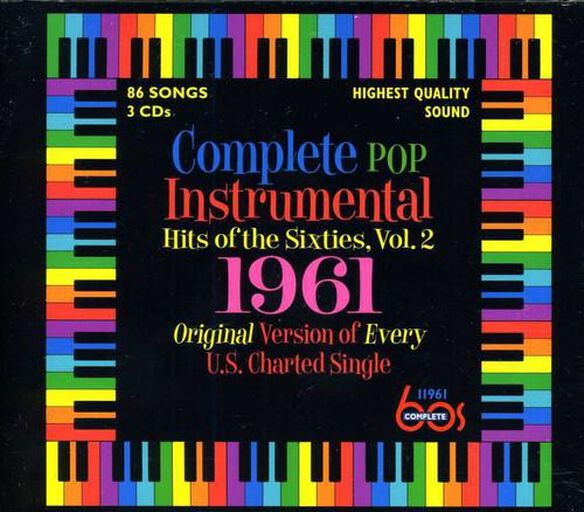Complete Pop Instrumental Hits Of Sixties 2 / Var