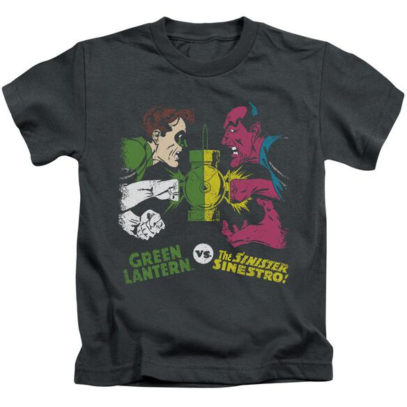 Dc Gl Vs Sinestro Short Sleeve Juvenile T-Shirt