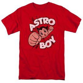 Astro Boy Flying Short Sleeve Adult T-Shirt
