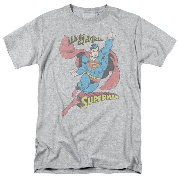 Dc On The Job Short Sleeve Adult Athletic T-Shirt