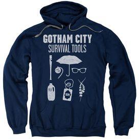 Gotham Survival Tools Adult Pull Over Hoodie