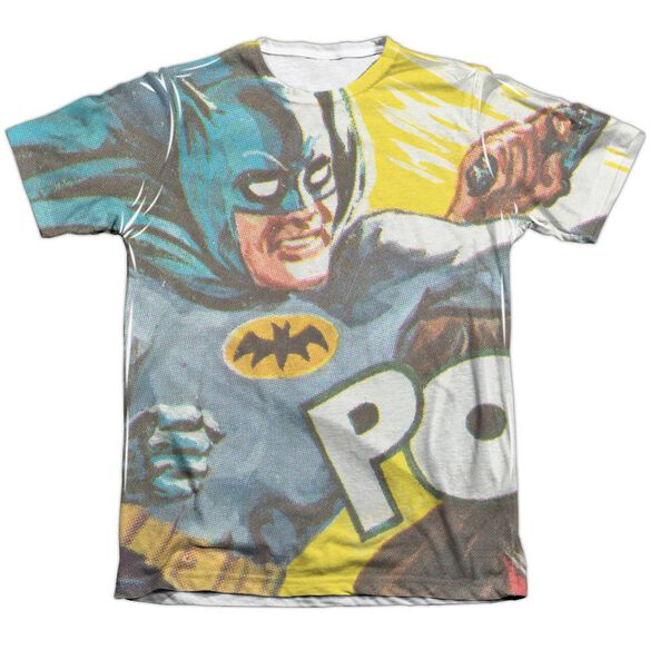Batman Classic Tv On The Chin Adult Poly Cotton Short Sleeve Tee T-Shirt