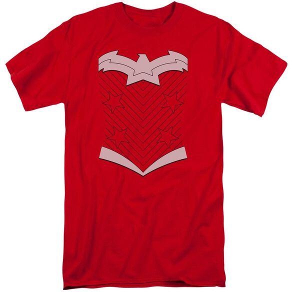 Jla New Ww Costume Short Sleeve Adult Tall T-Shirt