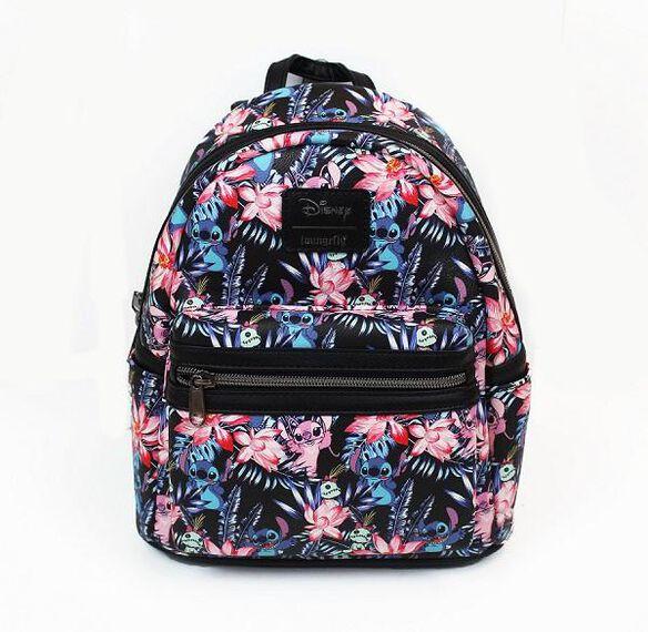 Loungefly Tropical Stitch Mini Backpack