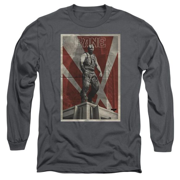 Dark Knight Rises Bane Rooftop Poster Long Sleeve Adult T-Shirt