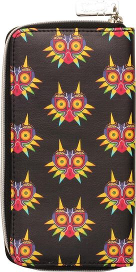 Zelda Majoras Mask Logo All Over Clutch Wallet