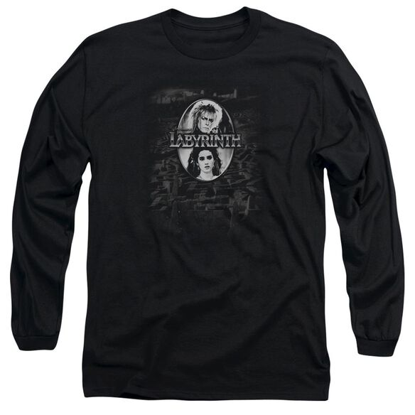 Labyrinth Maze Long Sleeve Adult T-Shirt