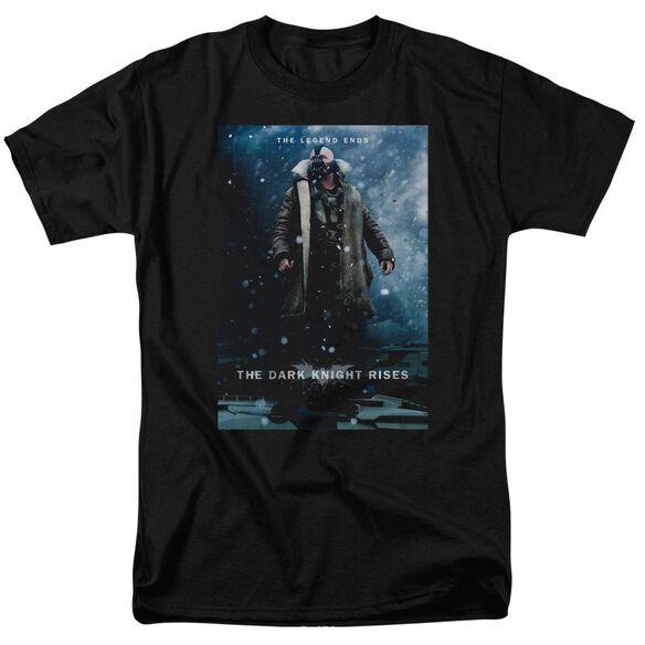 Dark Knight Rises Bane Poster Short Sleeve Adult T-Shirt