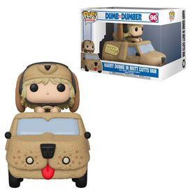 Funko Pop Ride: Dumb & Dumber - Harry with Mutts Cutts Van