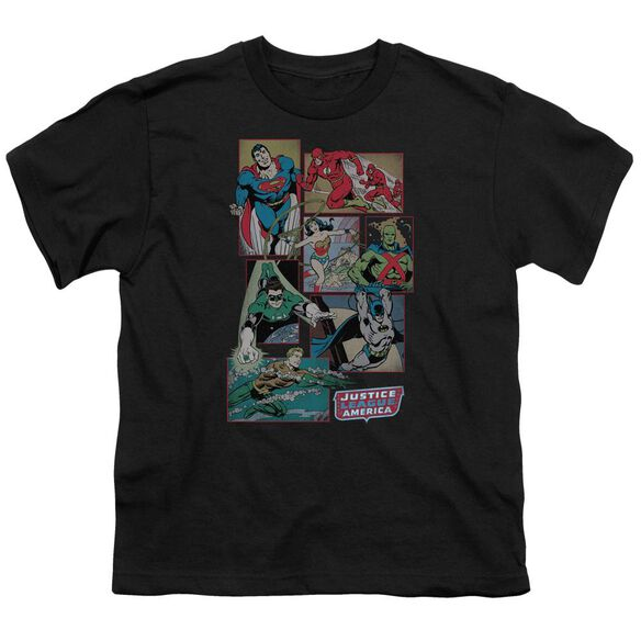 Dc Justice League Boxes Short Sleeve Youth T-Shirt