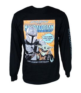 Star Wars The Mandalorian & Child Long Sleeve T-Shirt