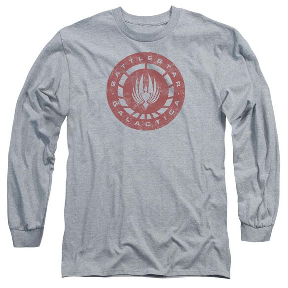 Bsg Eroded Logo Long Sleeve Adult Athletic T-Shirt
