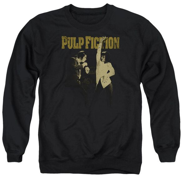 Pulp Fiction I Wanna Dance Adult Crewneck Sweatshirt
