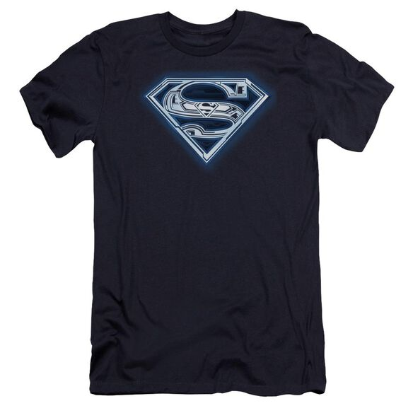 Superman Cyber Shield Premuim Canvas Adult Slim Fit