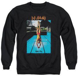 Def Leppard High N Dry Adult Crewneck Sweatshirt