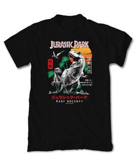 Riot Society - Jurassic Park Kanji T-Shirt