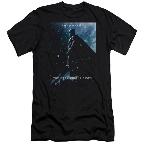 Dark Knight Rises Batman Poster Short Sleeve Adult T-Shirt