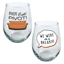 Friends Curved Table Glasses [2 Pack]