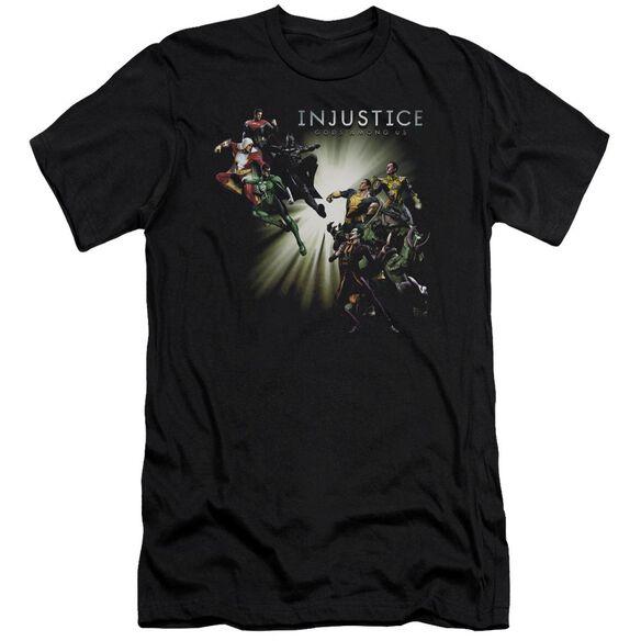 Injustice Gods Among Us Good Vs Evils Short Sleeve Adult T-Shirt