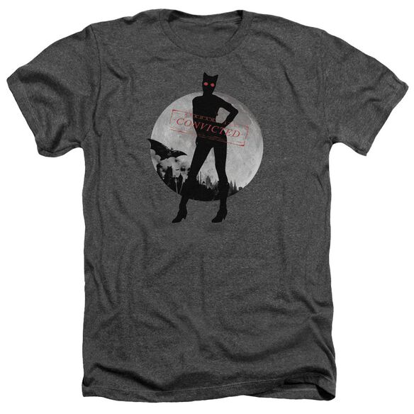 Arkham City Catwoman Convicted - Adult Heather - Charcoal
