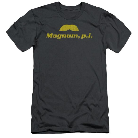 Magnum Pi The Stache Short Sleeve Adult T-Shirt