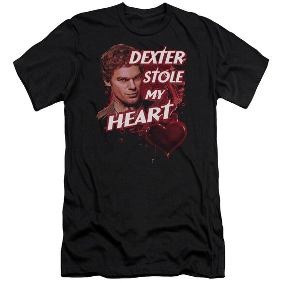 Dexter Bloody Heart Premuim Canvas Adult Slim Fit
