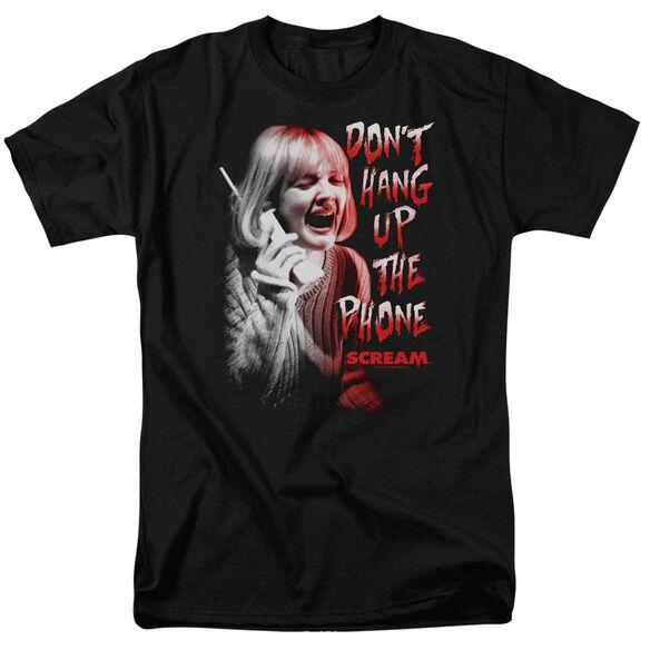 Scream Dont Hang Up Short Sleeve Adult T-Shirt