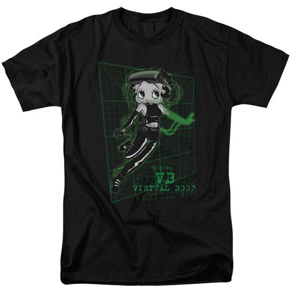 Betty Boop Virtual Boop Short Sleeve Adult T-Shirt