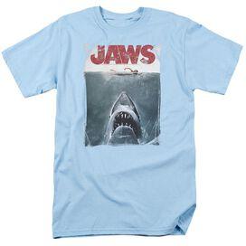Jaws Title Short Sleeve Adult Light T-Shirt