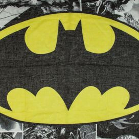 Batman Yellow Logo Infinity Scarf
