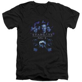 Sg1 Sg1 Stargate Command Short Sleeve Adult V Neck T-Shirt