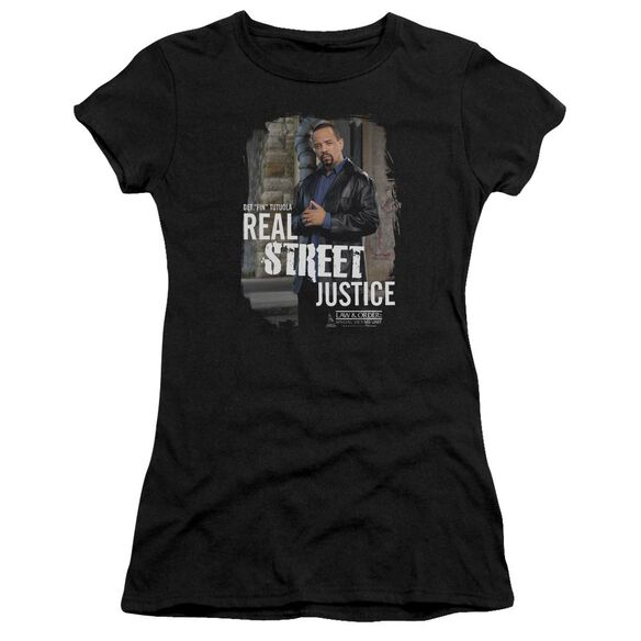 Law And Order Svu Street Justice Premium Bella Junior Sheer Jersey