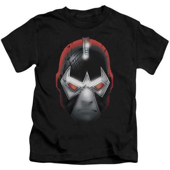 Batman Bane Head Short Sleeve Juvenile Black T-Shirt