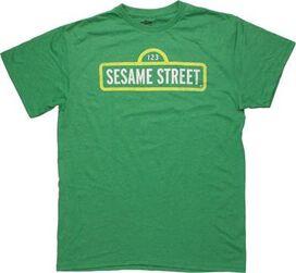 Sesame Street Sign T-Shirt Sheer