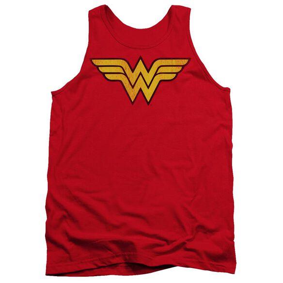 Dc Wonder Woman Logo Dist Adult Tank