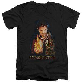 Constantine Devil You Know Short Sleeve Adult V Neck T-Shirt