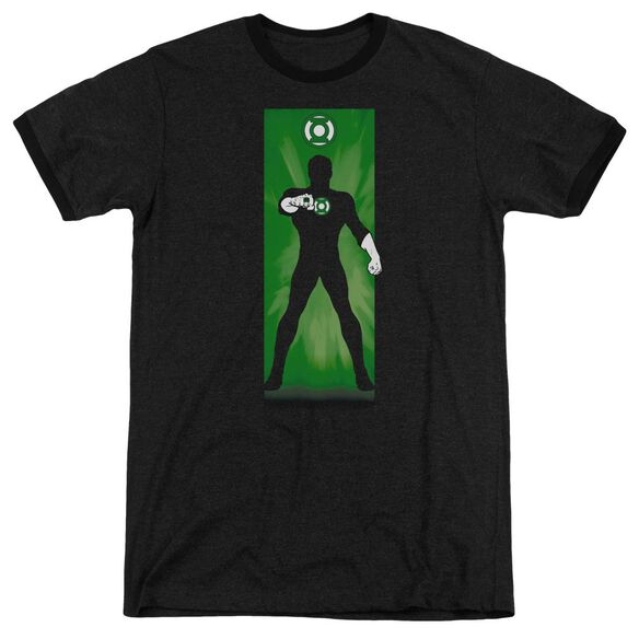 Dc Green Lantern Block Adult Heather Ringer