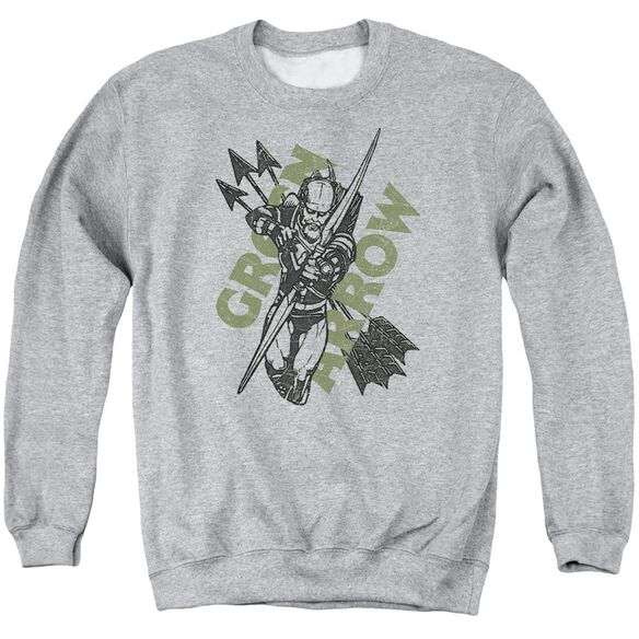 Jla Archers Arrows Adult Crewneck Sweatshirt Athletic